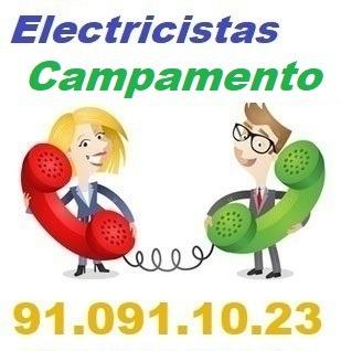 Telefono de la empresa electricistas Campamento